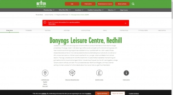 Donyngs Leisure Centre