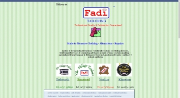 Fadi Tailoring  For Suits Making and Clothes Alterations Tailors in Surrey