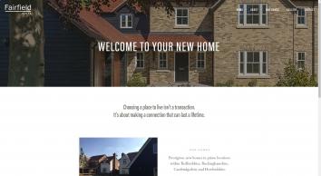 Fairfield Homes - Beautiful homes in Bedfordshire, Buckinghamshire, Cambridgeshire and Hertfordshire