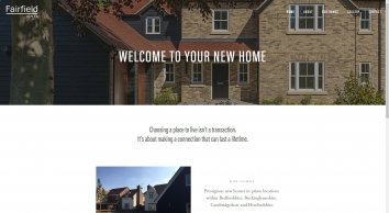 Fairfield Homes - Beautiful homes in Bedfordshire, Buckinghamshire, Cambridgeshire and Hertfordshire