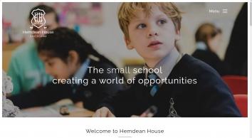Welcome to Hemdean House School | Prep School Caversham