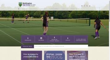 Home   Wallington High School for Girls