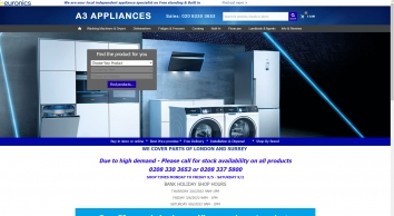 A3 Appliances Spares & Repairs