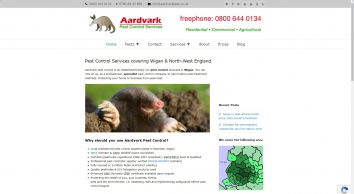 Pest Control Wigan, Lancashire, Merseyside & North-West England