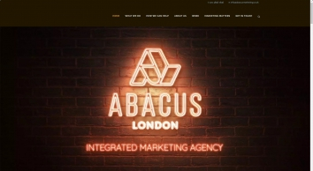 ABACUS MARKETING | Integrated Marketing Agency London