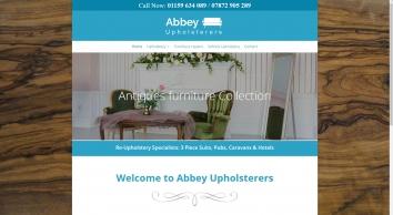 Upholsterers in Nottingham at Abbey Upholsterers