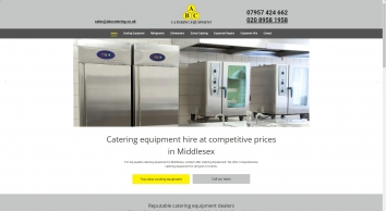 Catering equipment hire, ABC Catering Equipment