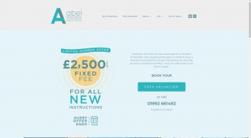 Abel of Hertford | Estate agents Hertfordshire | Lettings | Sales