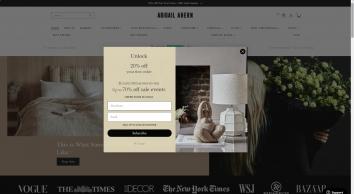 Abigail Ahern interiors, design and decor inspiration