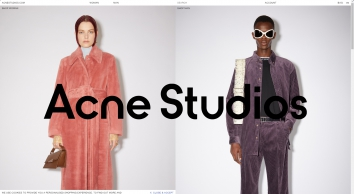 Acne Studios – Shop Ready-to-wear, accessories, shoes and denim for Men and Women - Homepage