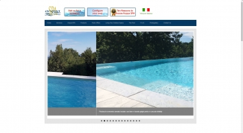 design, construction and maintenance of swimming pool,  Acqua Spa in Turin