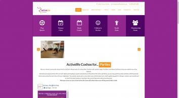 Active Life @ Coxhoe, Childrens Parties, Gym, Fitness Classes and more