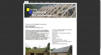 ACTON BUILDING & CONSTRUCTION