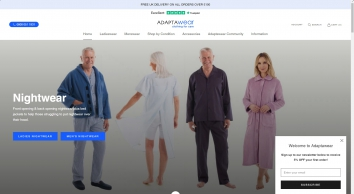 Adaptive clothing for the Disabled and Elderly Disabled clothing for easier dressing