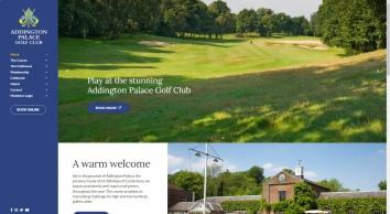 Addington Palace Golf Shop