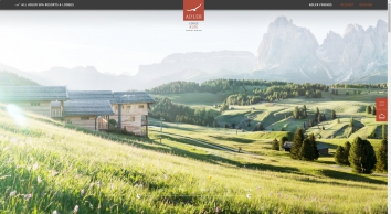 Your exclusive hotel on the Alpe di Siusi : the ADLER Mountain Lodge