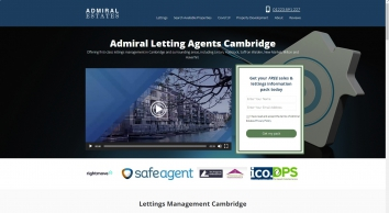 Admiral Residential Property Management Ltd Letting Agents in Cambridge - Lettings