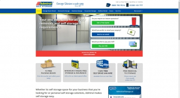 Admiral Removals & Self Storage