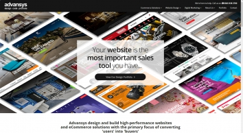 Ecommerce Solutions | B2C & B2B Websites | Advansys