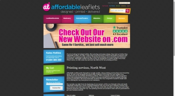 Affordable Leaflets | The UK's Cheapest Leaflets Printing Company