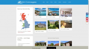 AGA Holiday Cottages to Rent - AGA Cottages