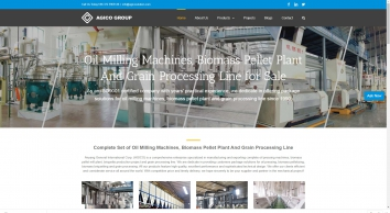 Package Solutions for Oil Pressing, Biofuel Machines And Grain Processing Line