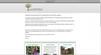 A.H Garden Services North London : A.H Garden Services North London, Decking - Fencing - Turfing