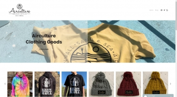 Skateboard and Streetwear Shop - Airculture