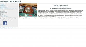 Benson Clock Repair
