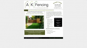 A K Fencing & Landscaping Services