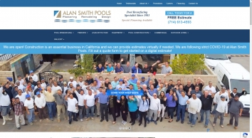 Alan Smith Pool Plastering & Construction