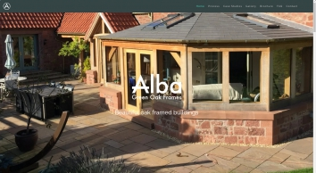 Alba Green Oak Frames Scotland