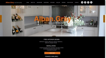 Welcome to Alban Gray Interiors We specialise in the design of Bathrooms, Kitchens and bedrooms