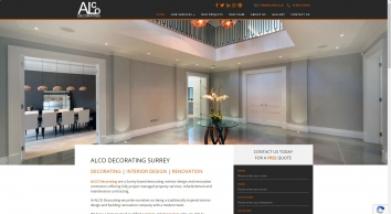 ALCO Decorating, specialist painting and decorating, interior design and renovation contractor. Decorator Guildford. - ALCO Decorating, Surrey