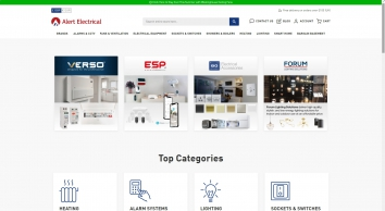 Online Electrical Wholesalers & Suppliers | Alertelectrical.com