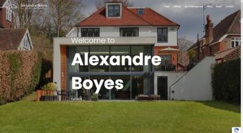 Alexandre Boyes, Tunbridge Wells
