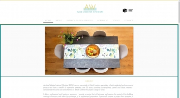 Alice Webster Interior Design and Decoration Soft Furnishings and Upholstery