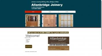 Allanbridge Joinery Manufacturer