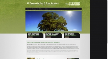 All Green Gardens & Tree Services