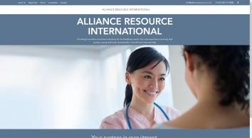 Alliance Resource International - Home