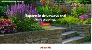 All seasons landscapes and gardens