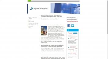 Alpha Windows