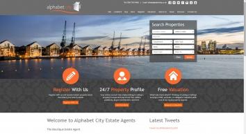 Alphabet City Estate & Letting Agents in Canary Wharf - Alphabet City