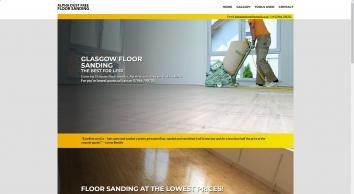 Glasgow Floor Sanding - Alpha Dust Free