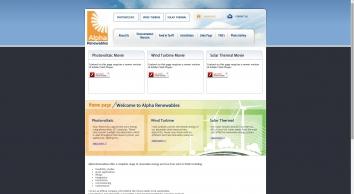 Home Page | Alpha Renewables
