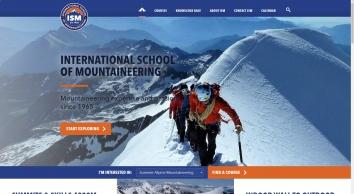 The International School Of Mountaineering Ltd