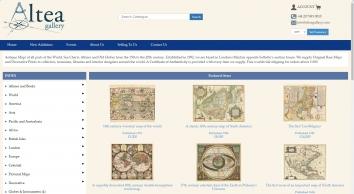 Altea Antique Maps & Charts