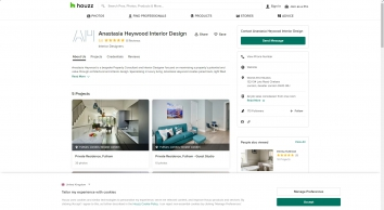 Anastasia Heywood Interior Design