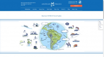 South America Tour Specialist | Andean Trails