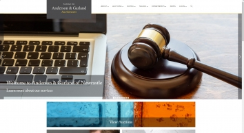 Home Page I Anderson & Garland Auctioneers